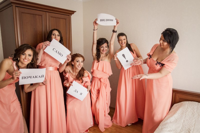 Сватбени снимки, Варна
