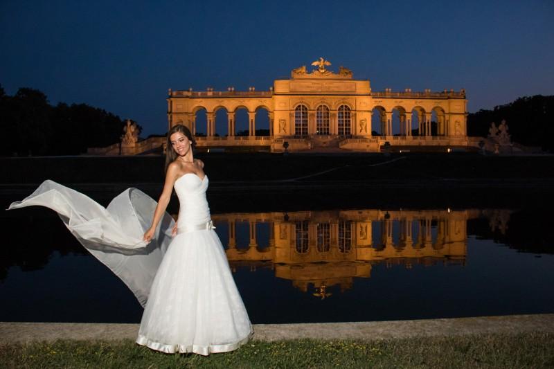 Сватбена фотосесия, Виена