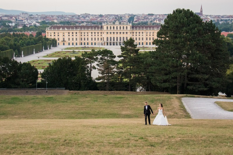 Фотозаснемане на сватба, Виена