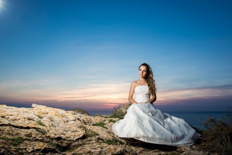 Сватбена фотосесия, Каварна